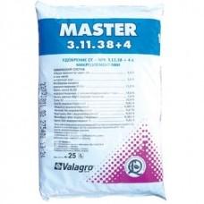 Удобрение Master 3+11+38+4 ( Мастер ) Valagro (Италия)